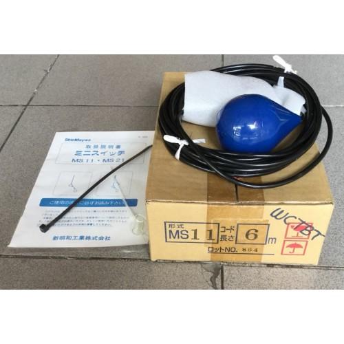 ลูกลอยไฟฟ้าควบคุมระดับน้ำ SHINMAYWA รุ่นMS11