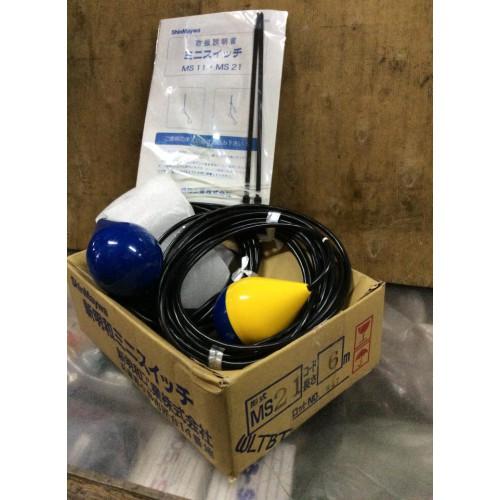 ลูกลอยไฟฟ้าควบคุมระดับน้ำ SHINMAYWAรุ่นMS21